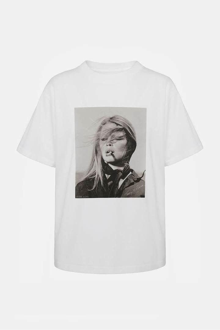 T-shirt IDA creme kleurig-1