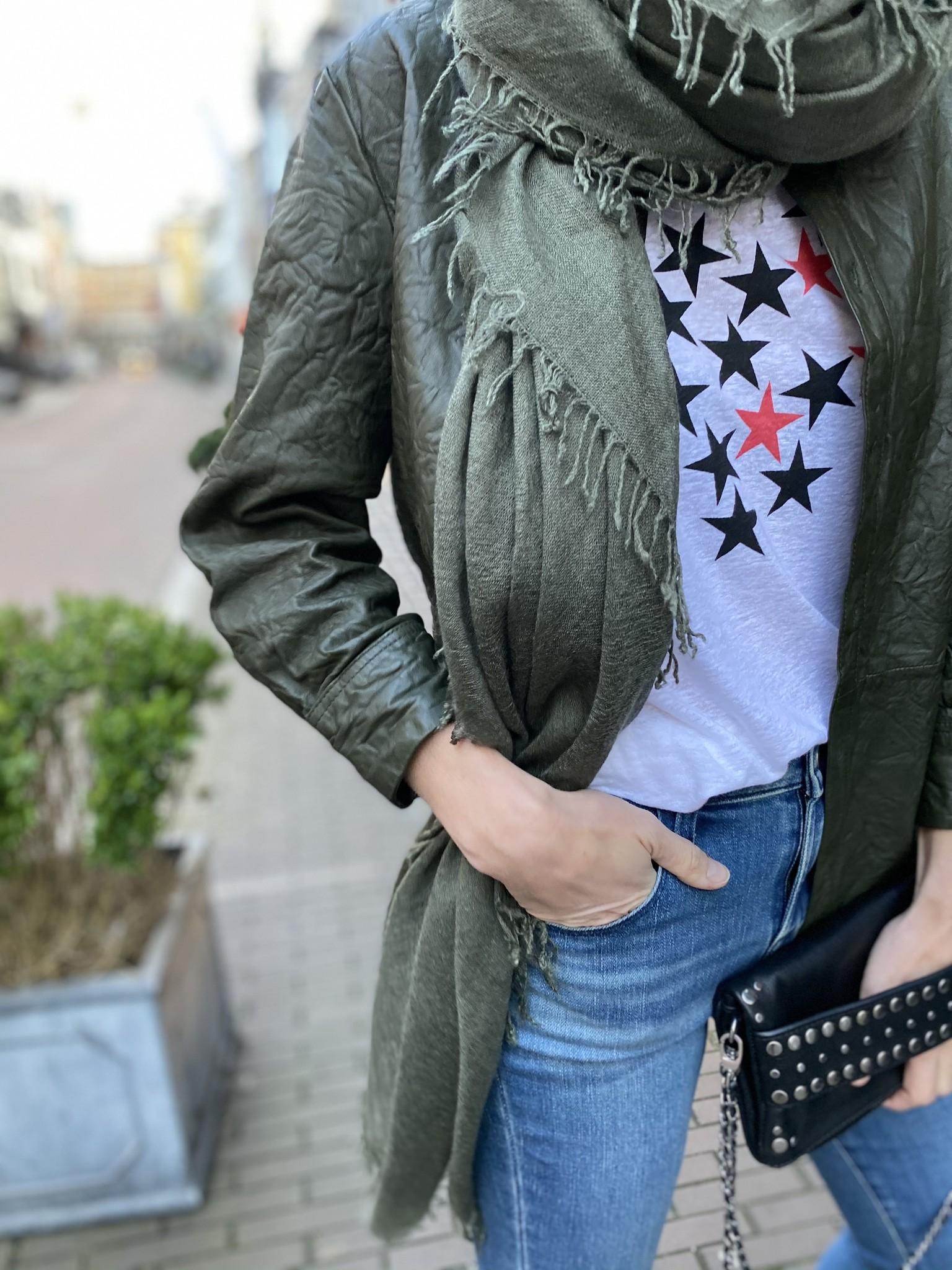 T-shirt ANYA STARS COTON-1