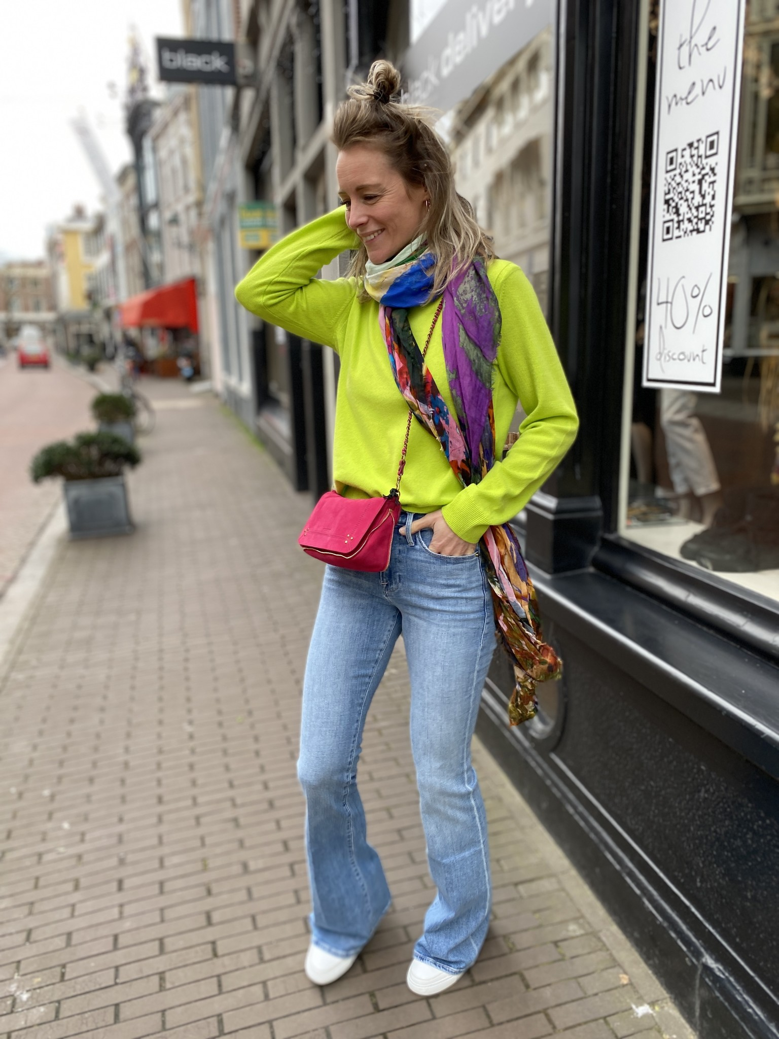 Broek LE HIGH FLARE-1