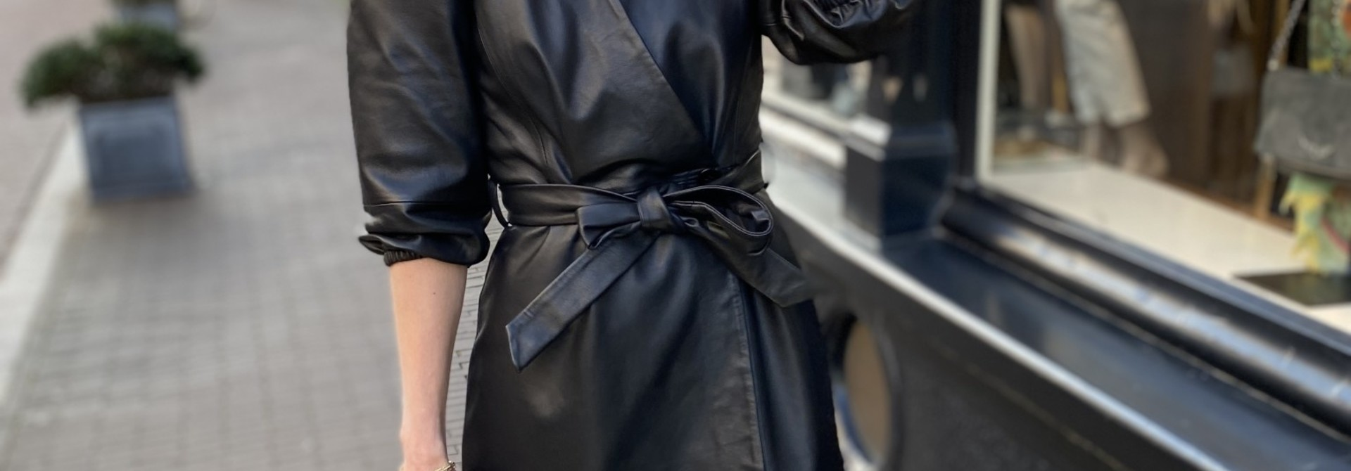 Jurk Desire leather