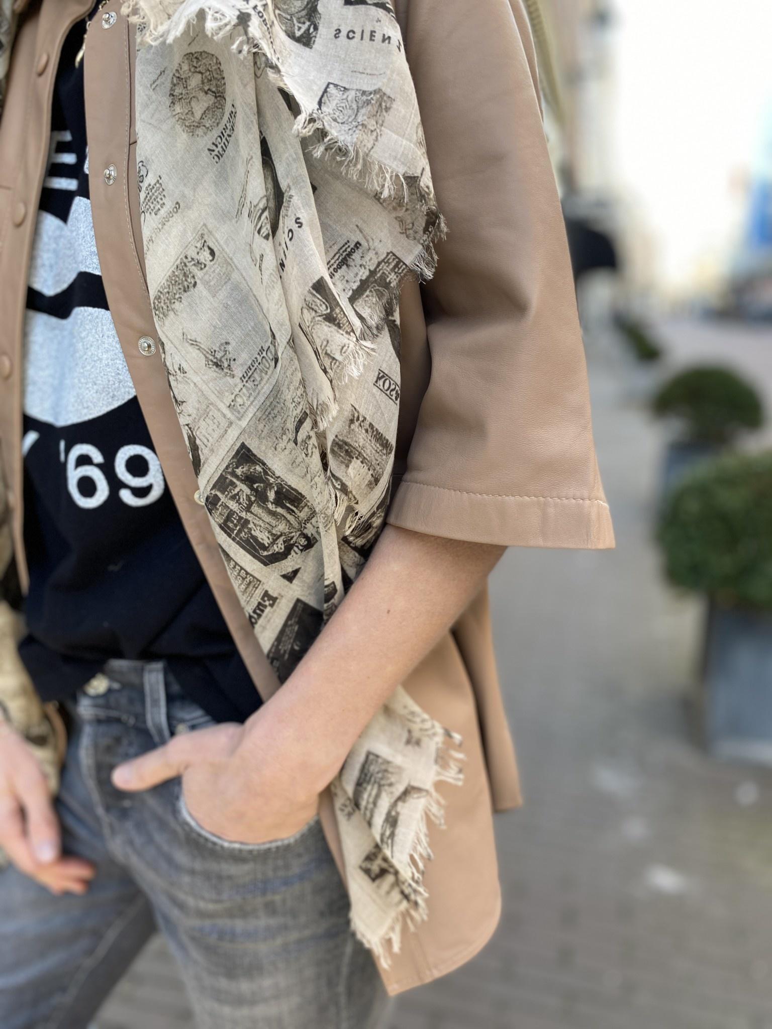 Blouse Boho leather-3