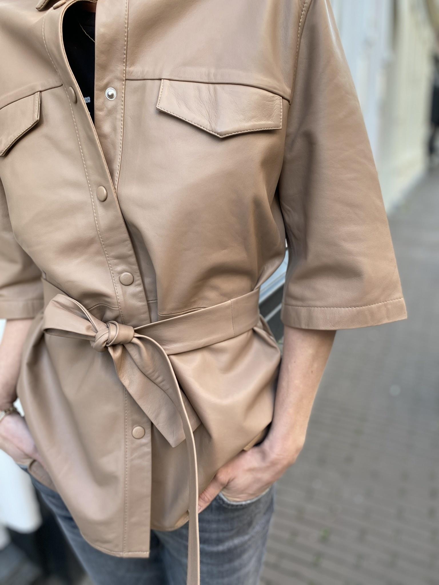 Blouse Boho leather-5