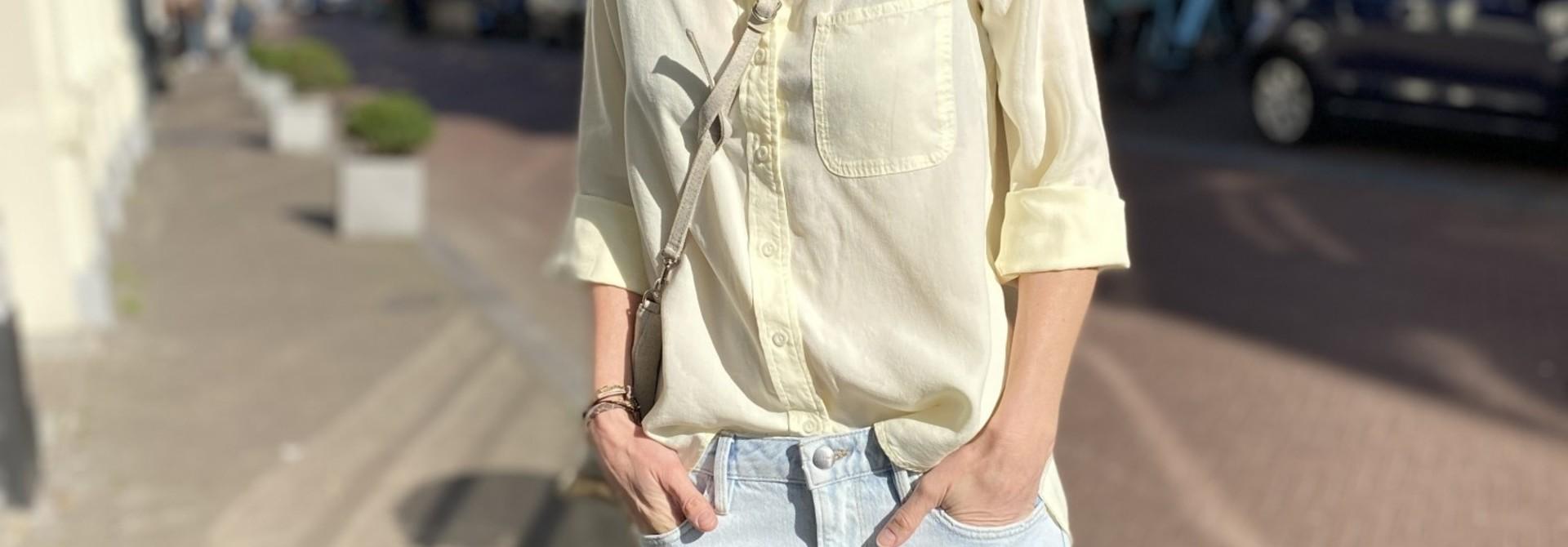 Shirt tail button down