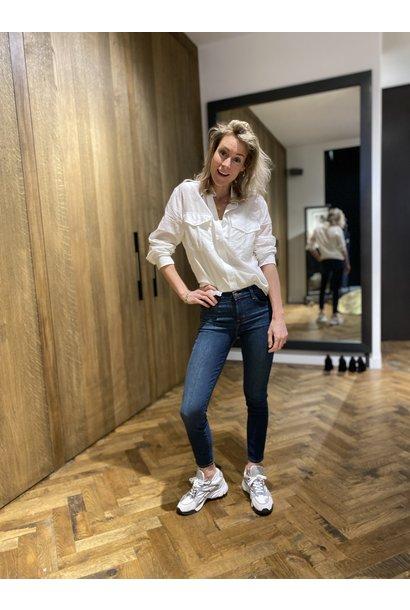 Jeans Mid Rise Capri