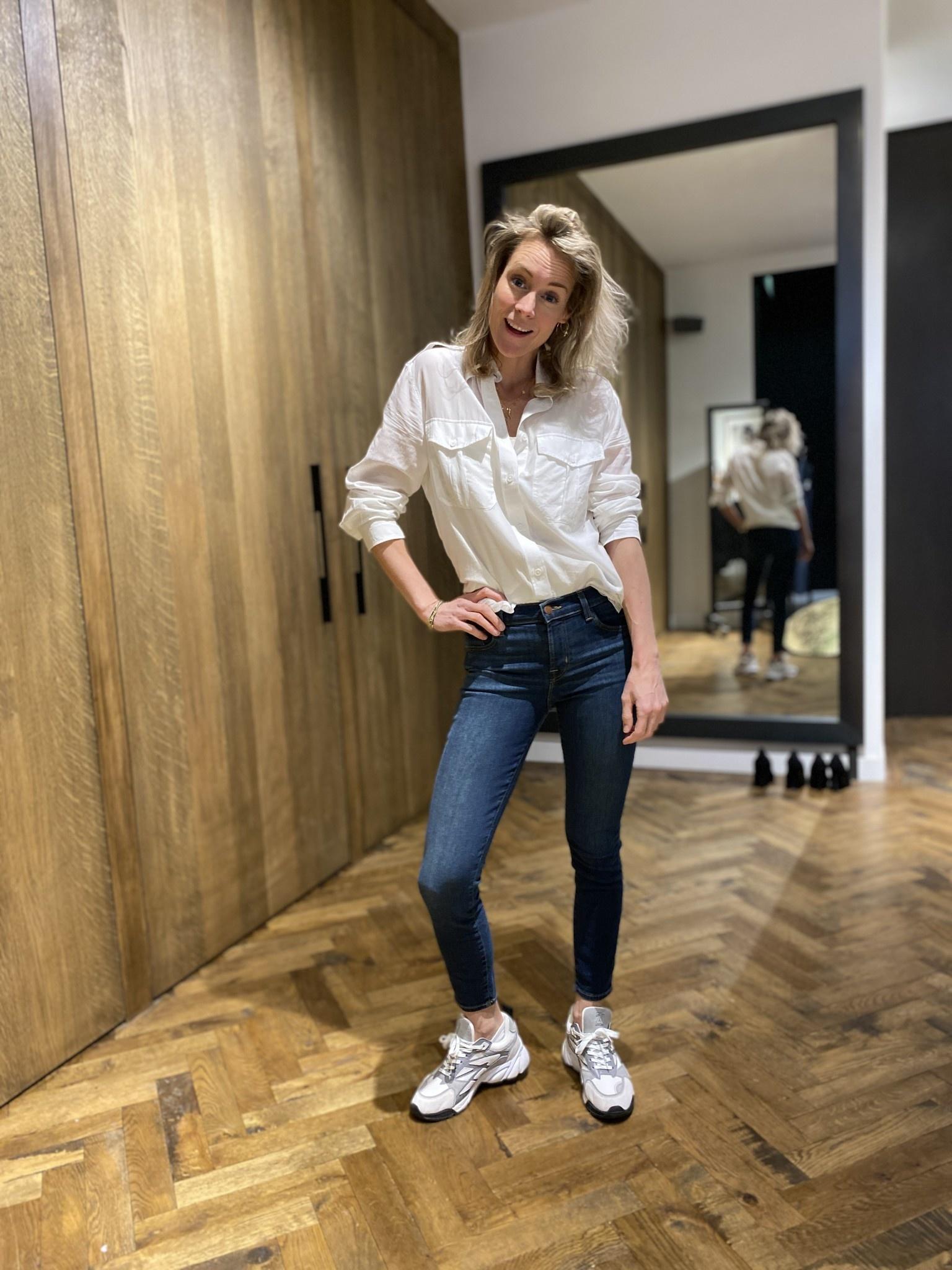 Jeans Mid Rise Capri-1