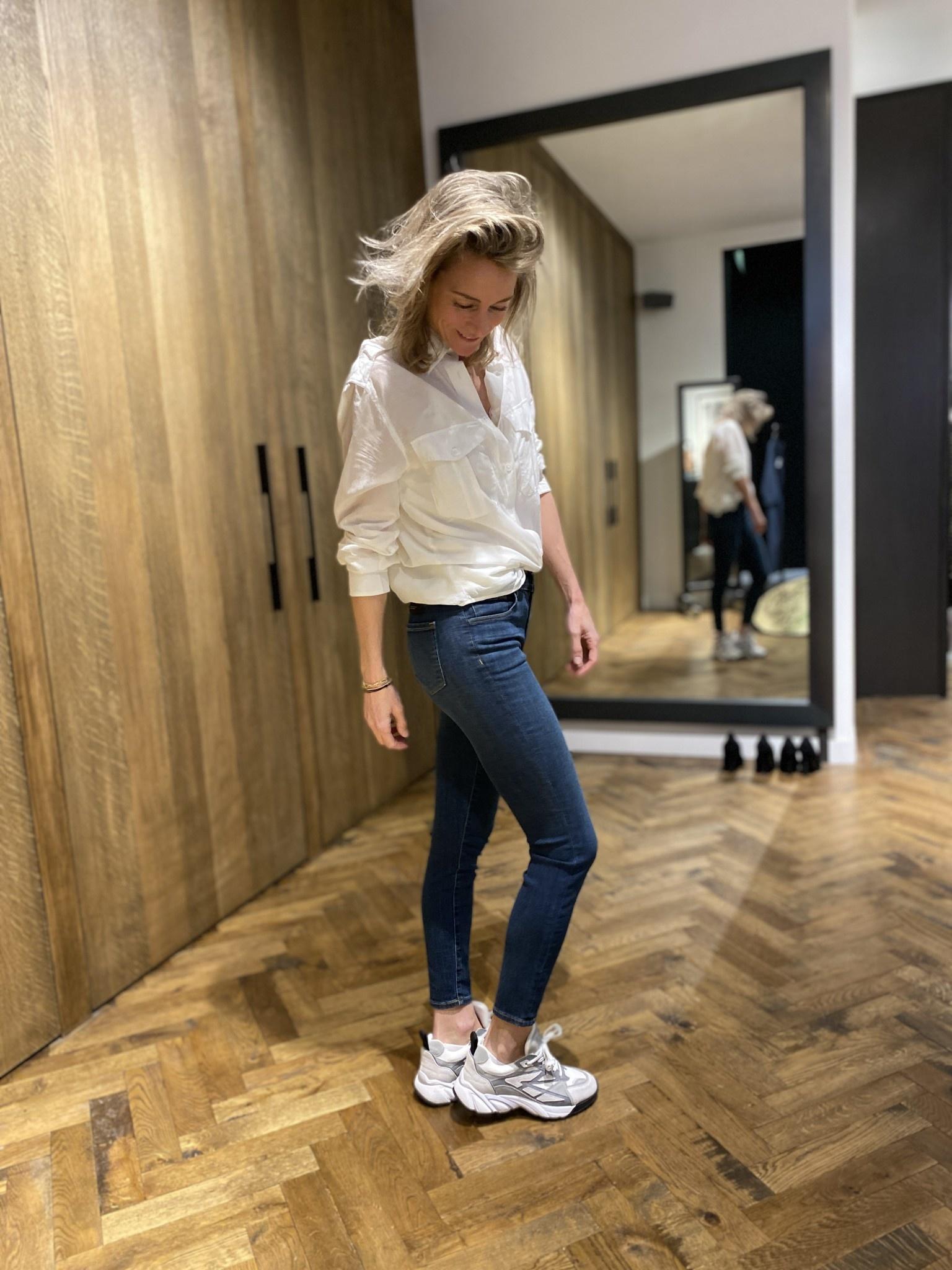 Jeans Mid Rise Capri-2