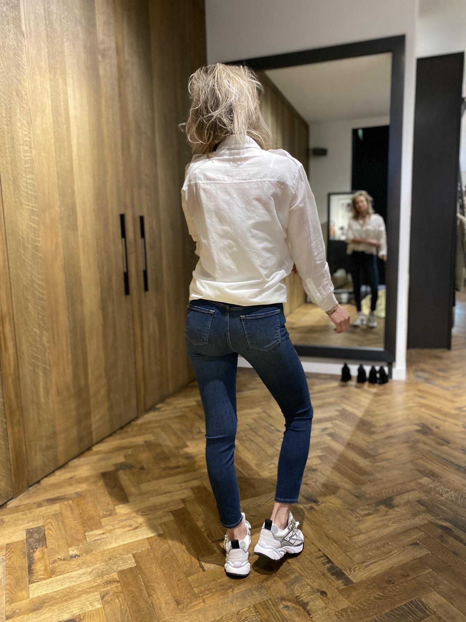Jeans Mid Rise Capri-3