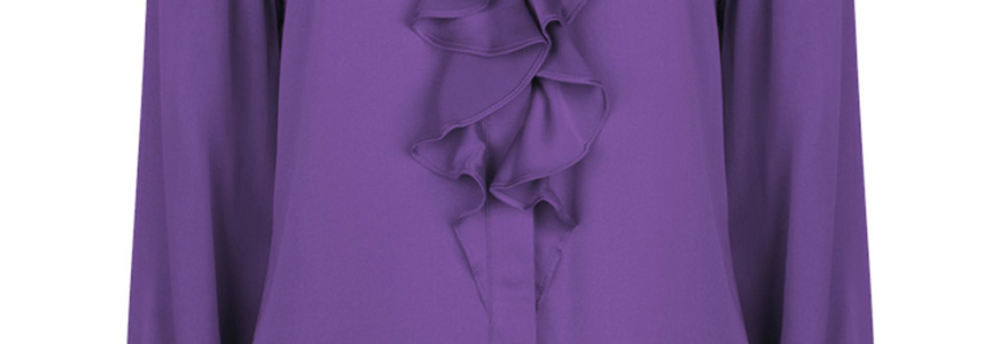 Silk blouse Sylvain (verkrijgbaar in 2 kleuren)