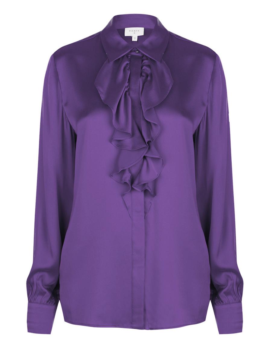 Silk blouse Sylvain (verkrijgbaar in 2 kleuren)-1