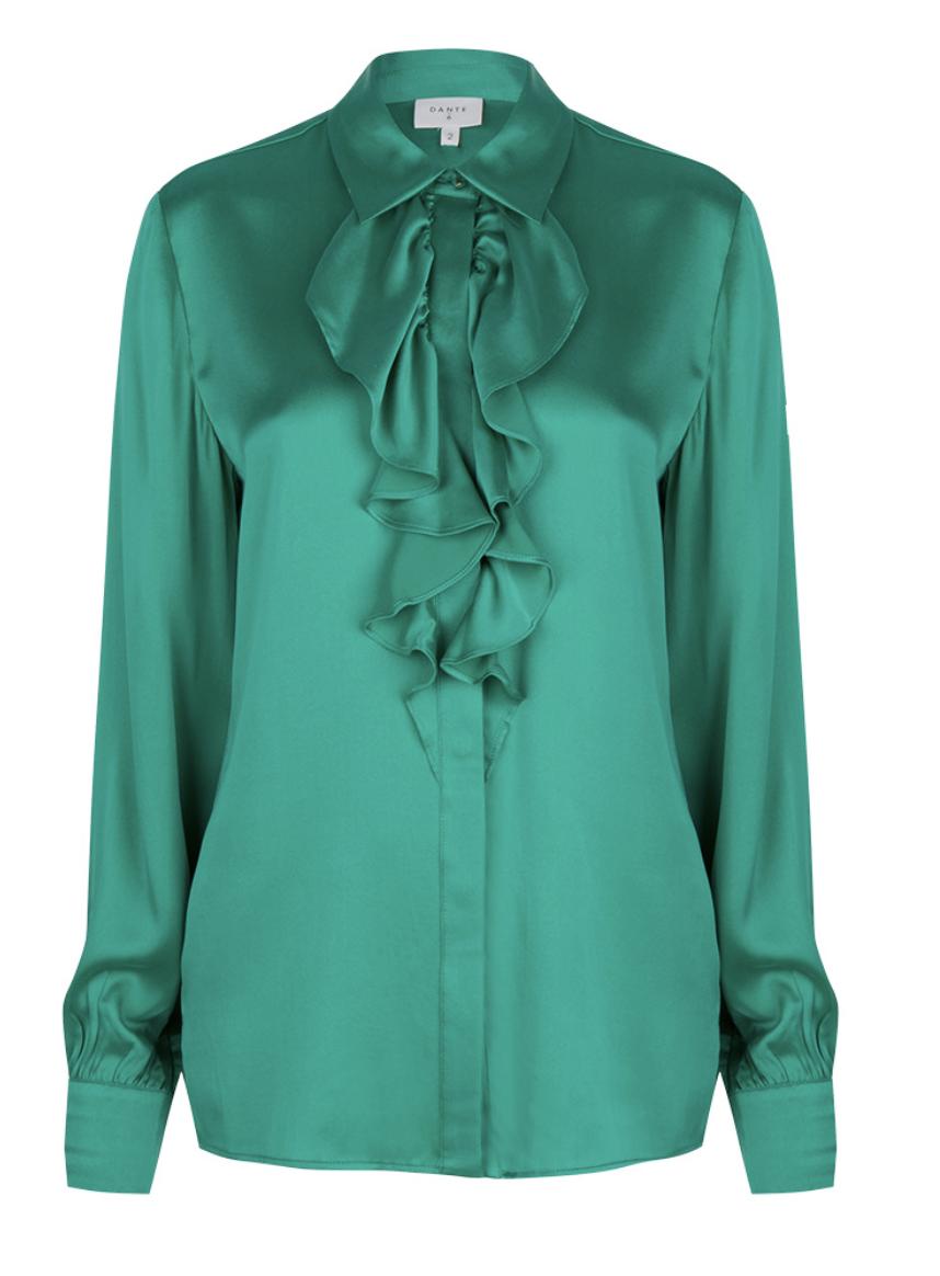 Silk blouse Sylvain (verkrijgbaar in 2 kleuren)-2
