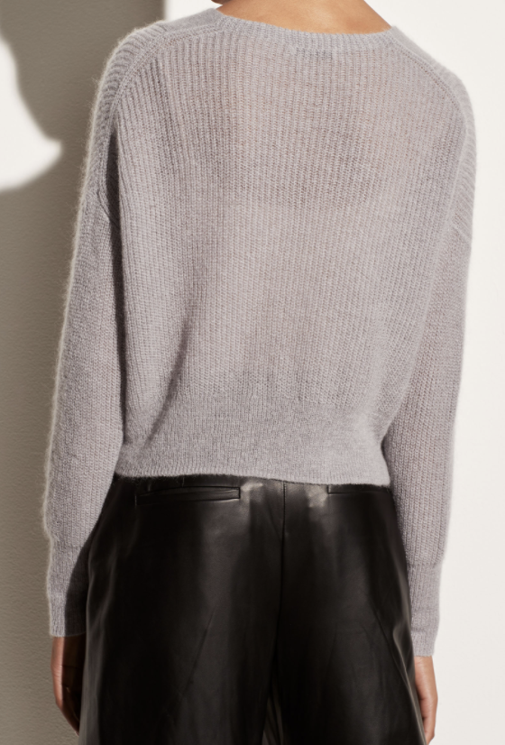Featherweight Ribbed Cardigan-3