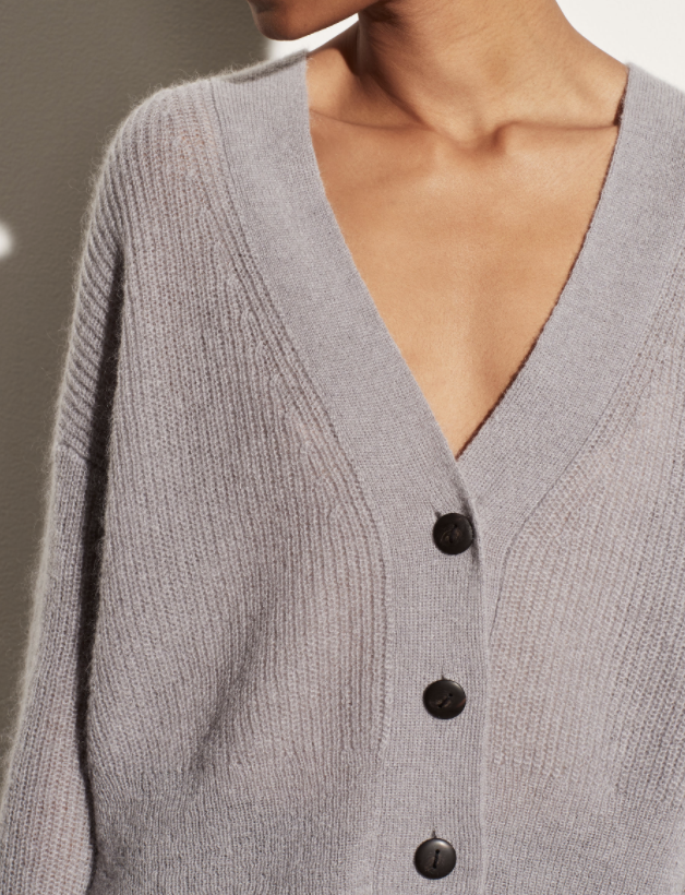 Featherweight Ribbed Cardigan-2