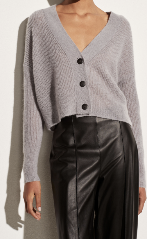 Featherweight Ribbed Cardigan-1