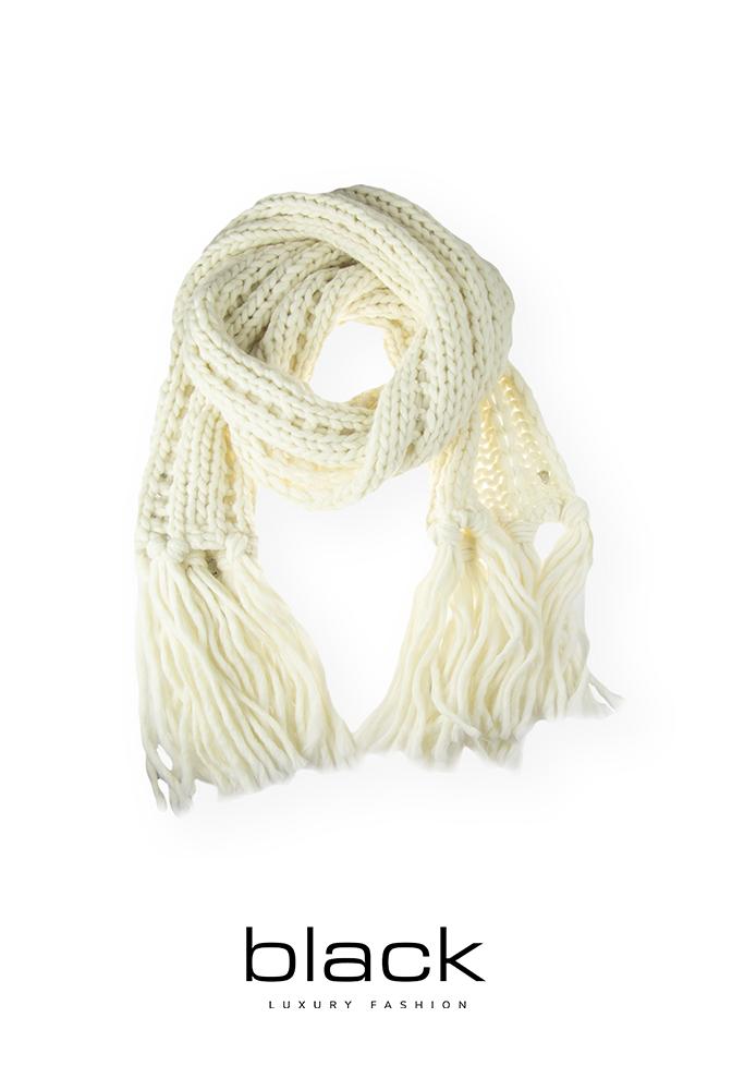 Dondup WK254 Y00502D sjaal creme-1