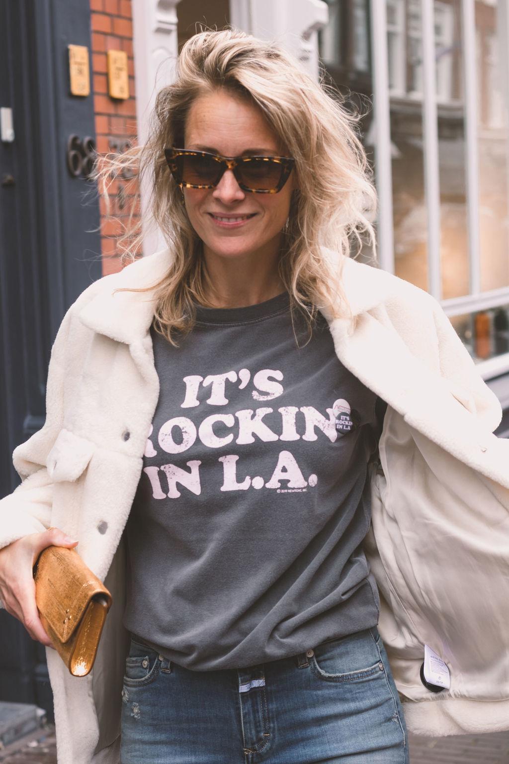 Newtone T-shirt Trucker Rockin Pepper FW21TSTPEPROCK-2