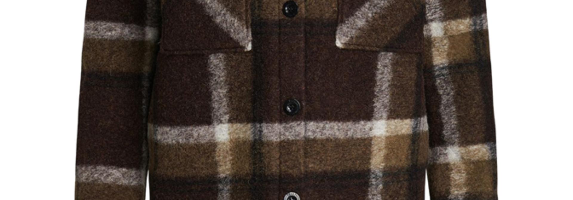 Peak Performance Kelly Wool Shirt Jacket-909 CHECK G75288030