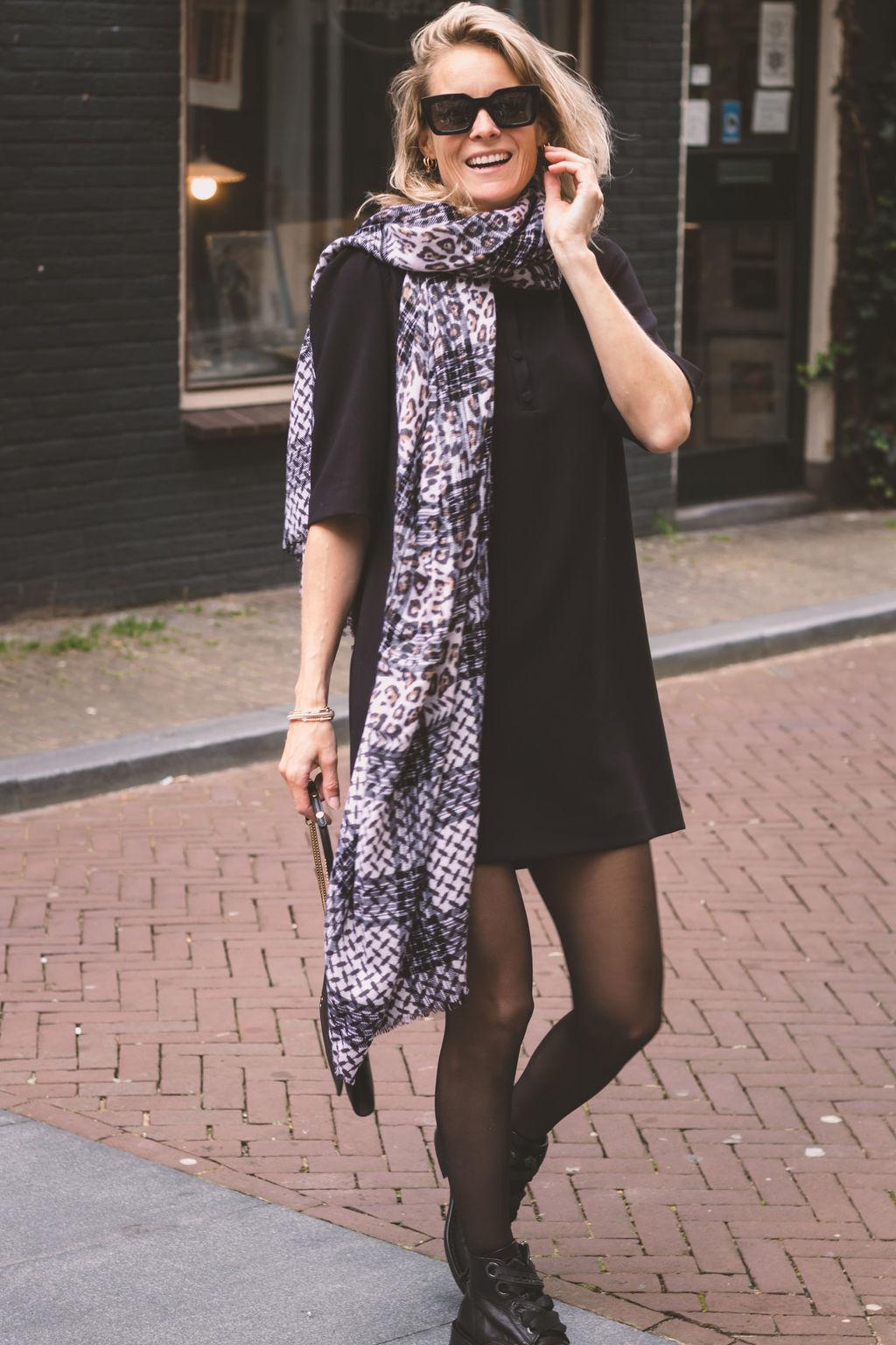 ba&sh Dress Mara 1H21MARA Noir-2