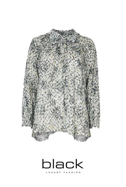 Lala Berlin 1216-WO-2039 blouse Basil