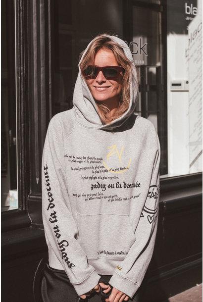 Georgy multicusto voltaire happy hoodie
