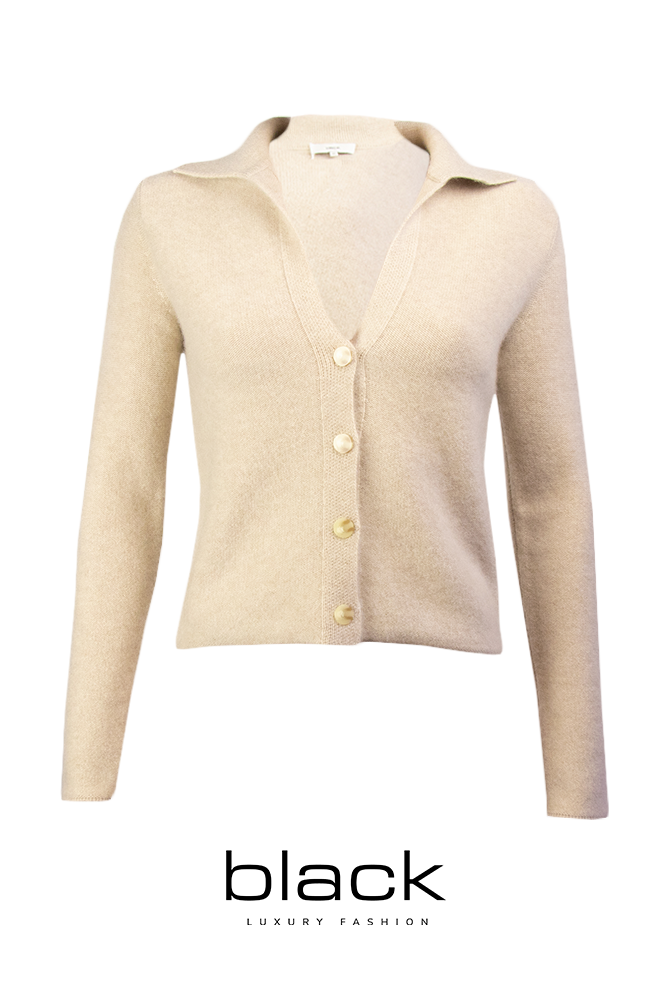 Polo Buttoned Cardigan-5