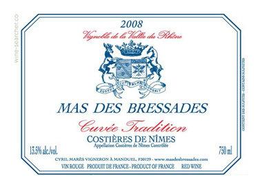 Mas des Bressades, Costières de Nîmes