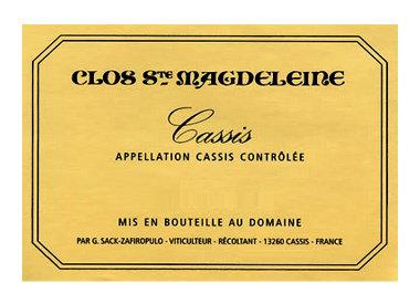 Clos st. Magdeleine, Cassis