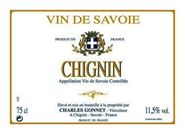 Domaine Charles Gonnet, Chignin