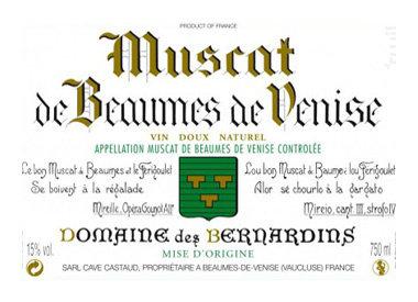 Domaine des Bernardins, Beaumes-de-Venise