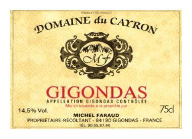 Domaine du Cayron, Gigondas