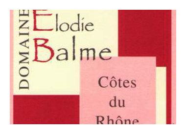 Domaine Elodie Balme, Rasteau