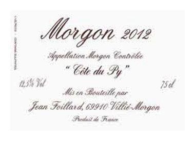 Domaine Jean Foillard, Villié-Morgon