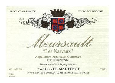 Domaine Yves Boyer-Martenot, Meursault