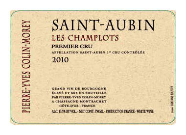 Pierre-Yves Colin-Morey, Chassagne-Montrachet