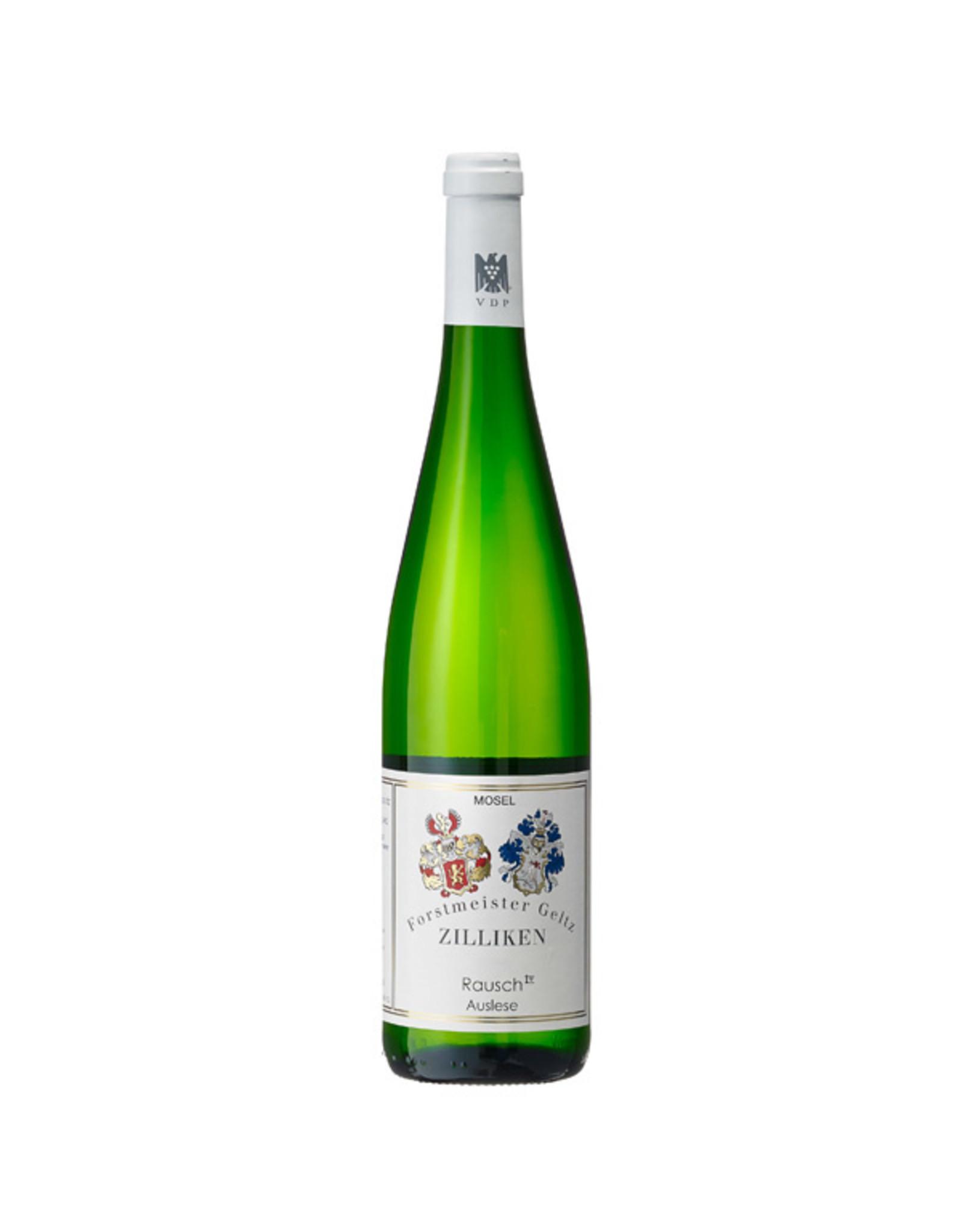 Weingut Forstmeister Geltz Zilliken, Saarburg Zilliken Rausch Auslese 2015 0.375