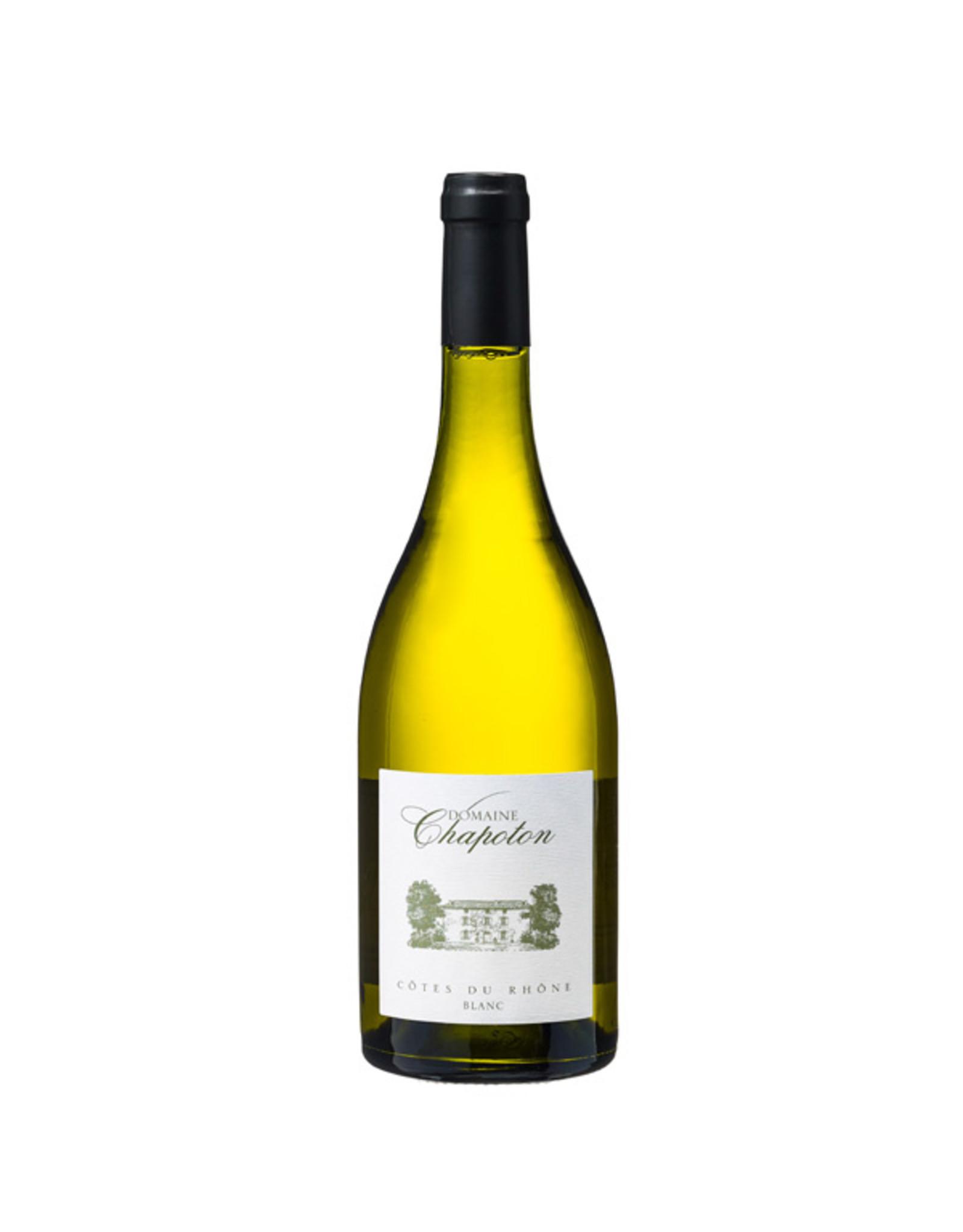 Domaine Chapoton, Saint-Cécile-les-Vignes Chapoton Côtes du Rhône blanc 2019