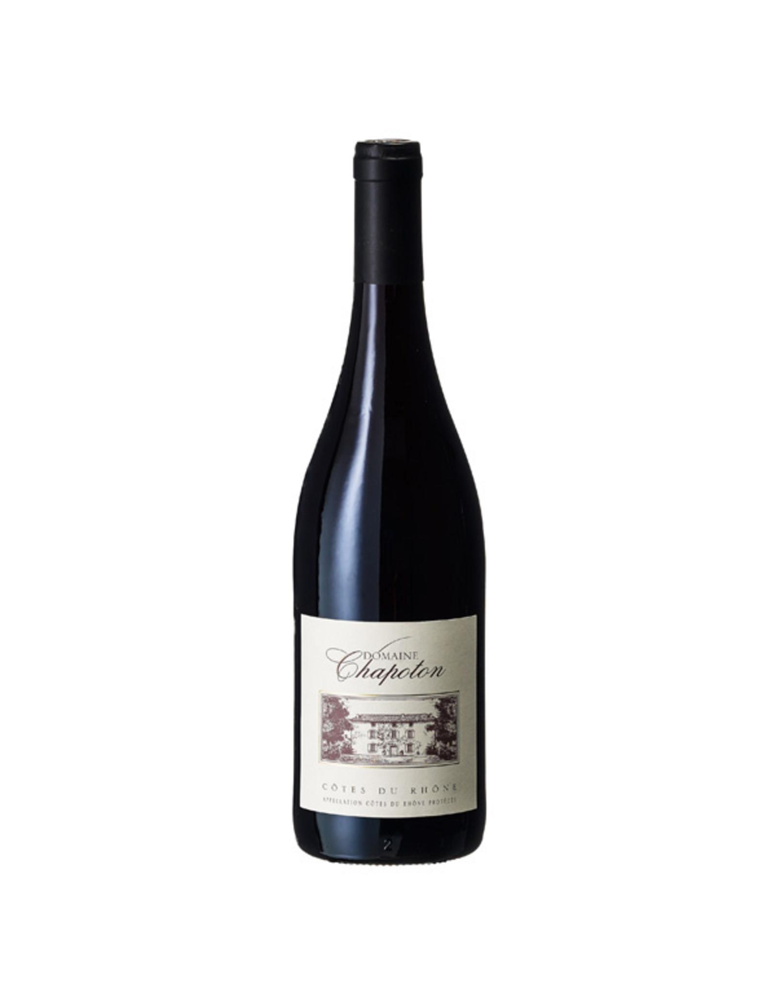 Domaine Chapoton, Saint-Cécile-les-Vignes Chapoton Côtes du Rhône rouge 2020