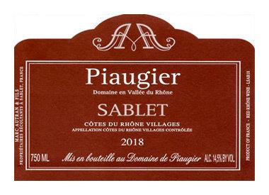 Domaine de Piaugier, Sablet