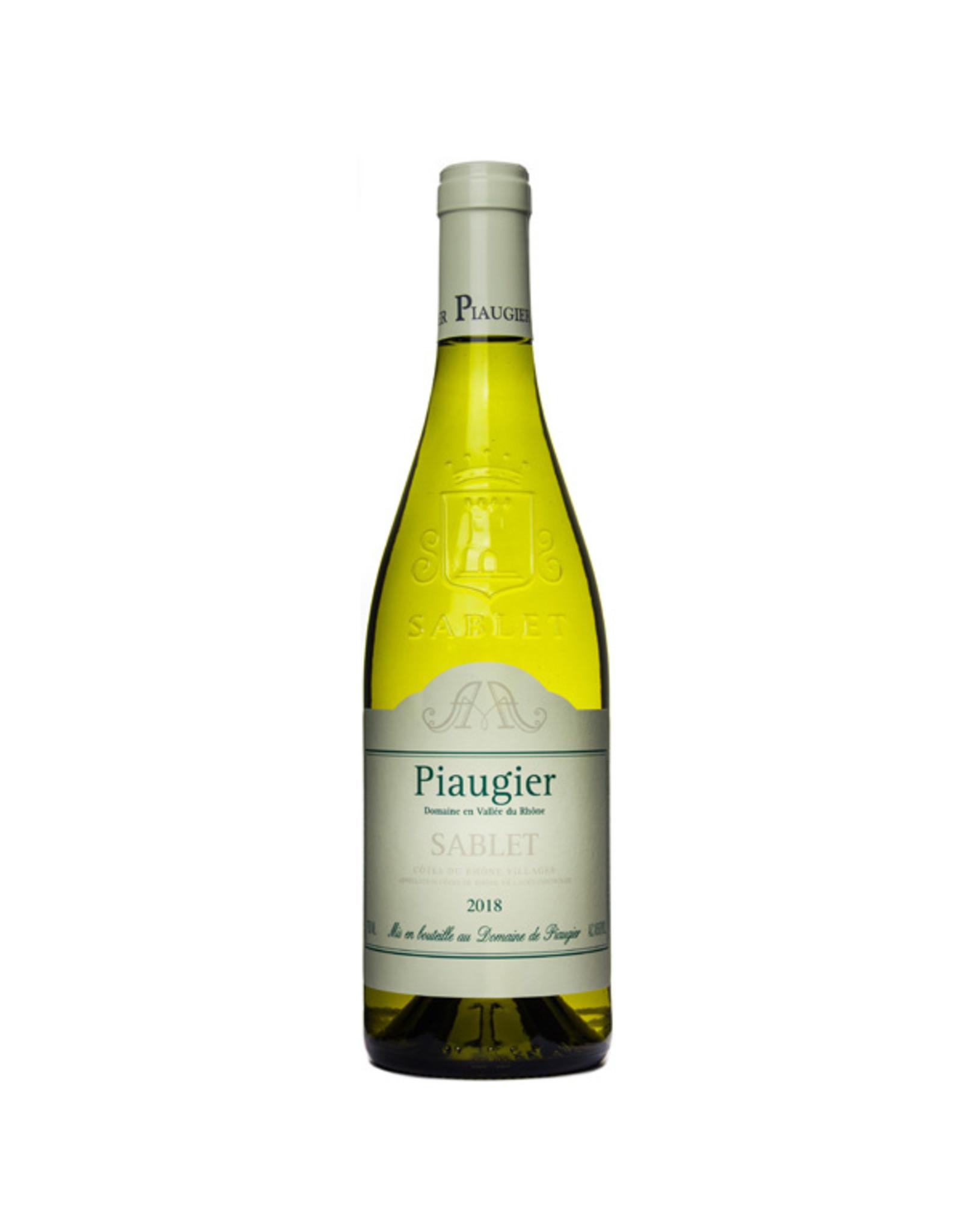 Domaine de Piaugier, Sablet Sablet Blanc 2018, Domaine Piaugier