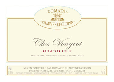 Domaine Chauvenet-Chopin, Nuits-Saint-Georges