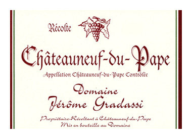 Gradassi, Chateauneuf du Pape