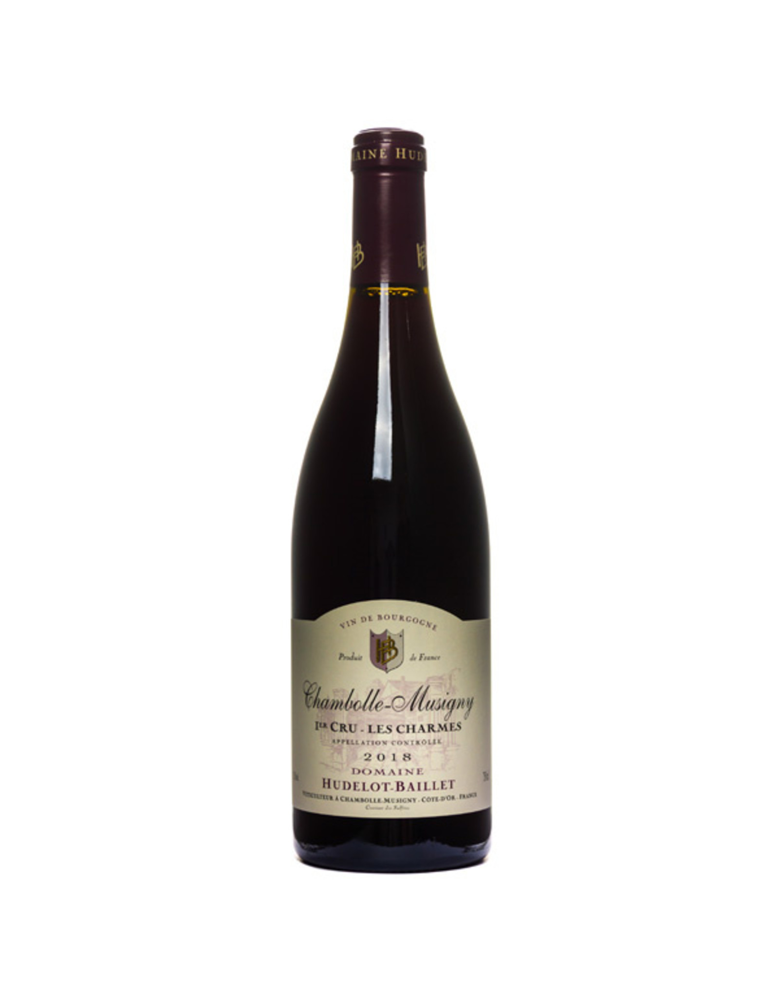 """Hudelot-Baillet, Chambolle-Musigny """"Les Cras"""" Chambolle-Musigny 1er Cru, Hudelot-Baillet"""