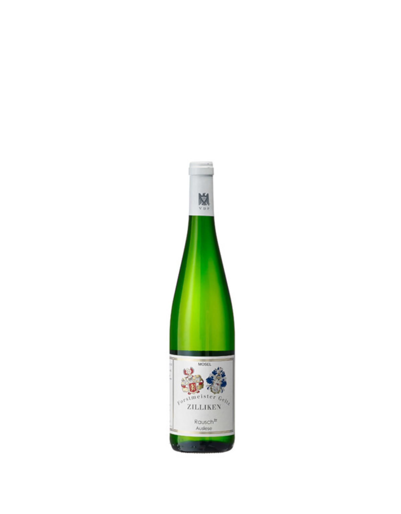 Weingut Forstmeister Geltz Zilliken, Saarburg Zilliken Rausch Auslese 2012 0.375