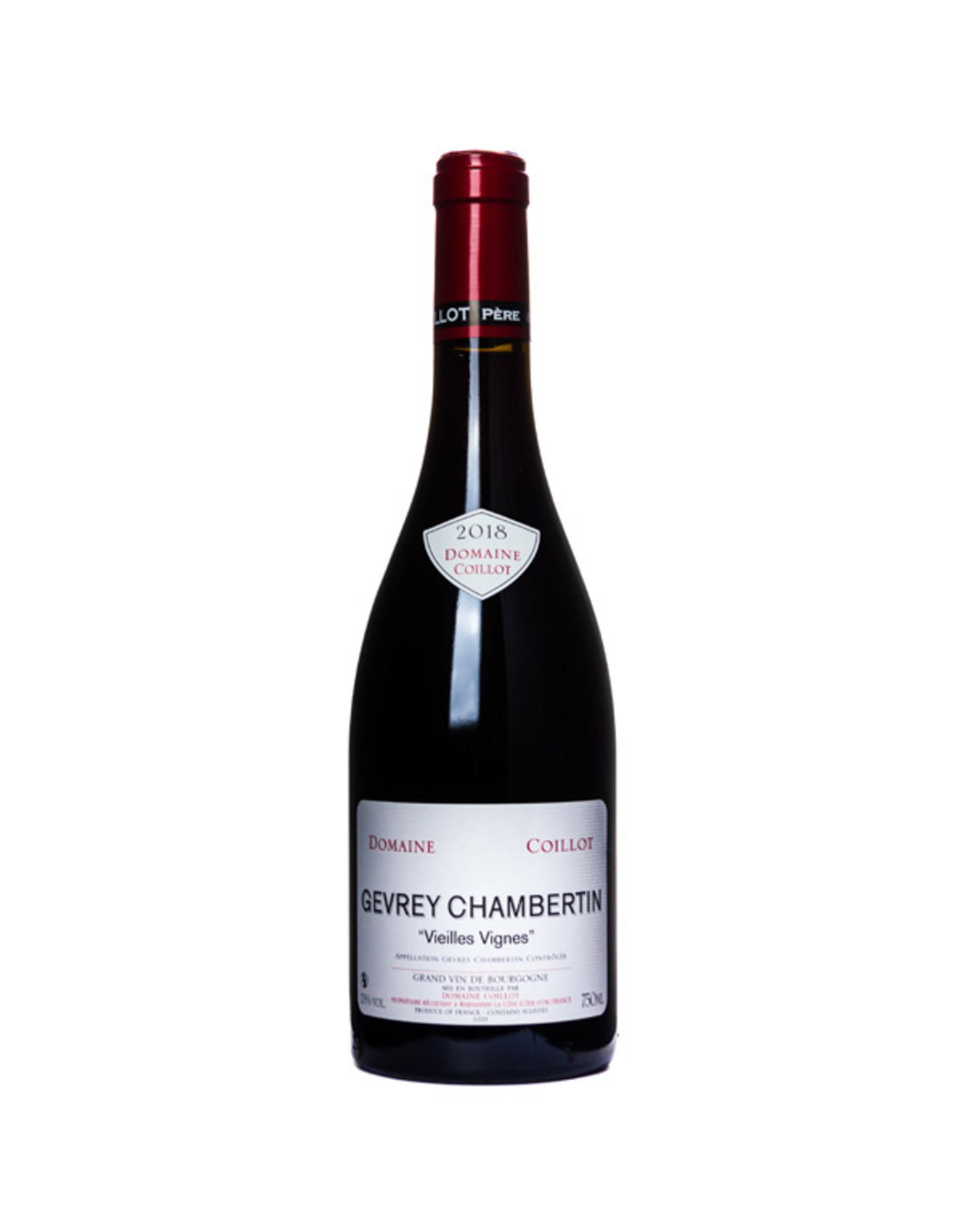 Domaine Christophe Coillot, Marsannay Domaine Coillot, Gevrey Chambertin VV 2018