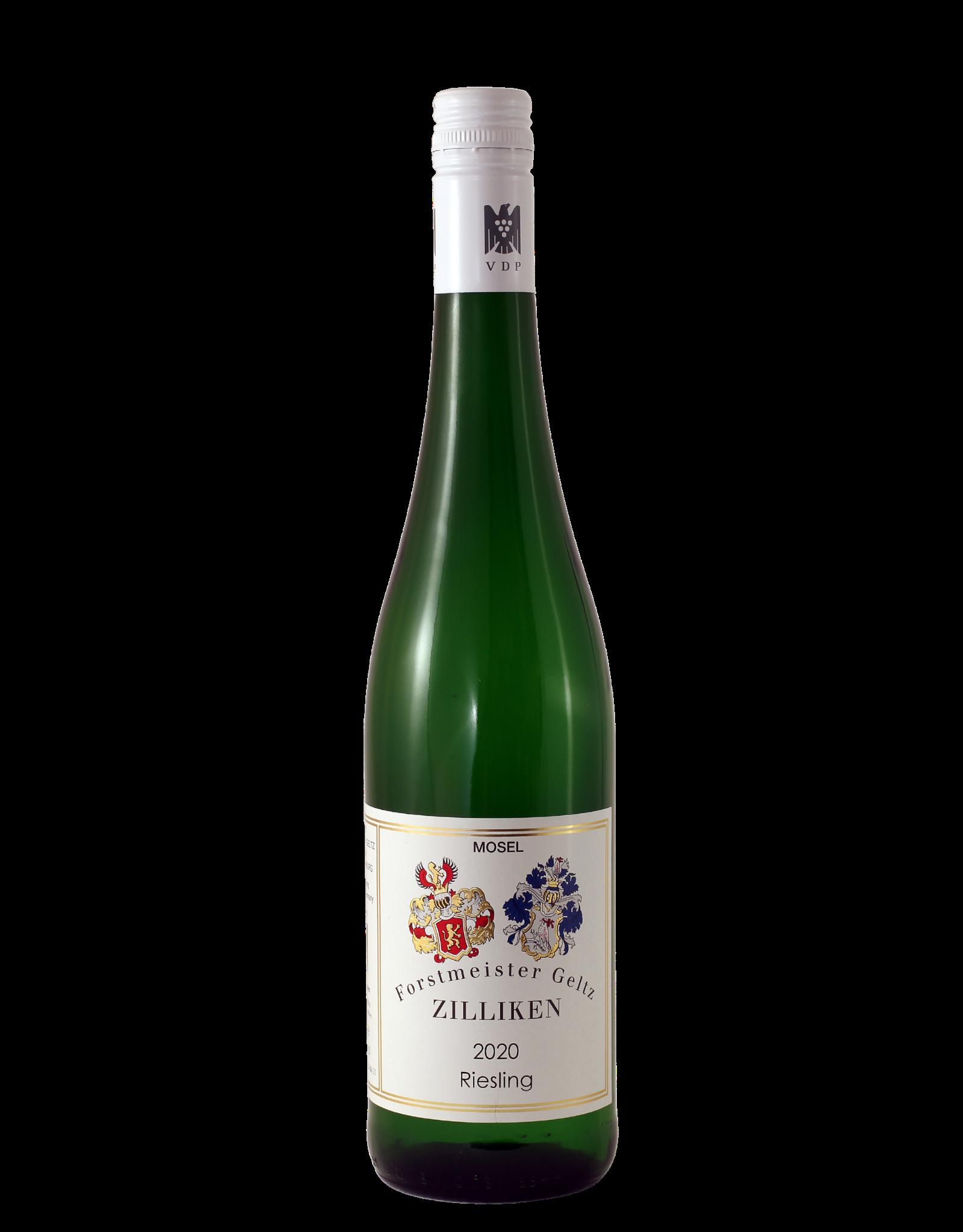 Weingut Forstmeister Geltz Zilliken, Saarburg Zilliken Riesling Fruchtig 2020 (halfzoet)