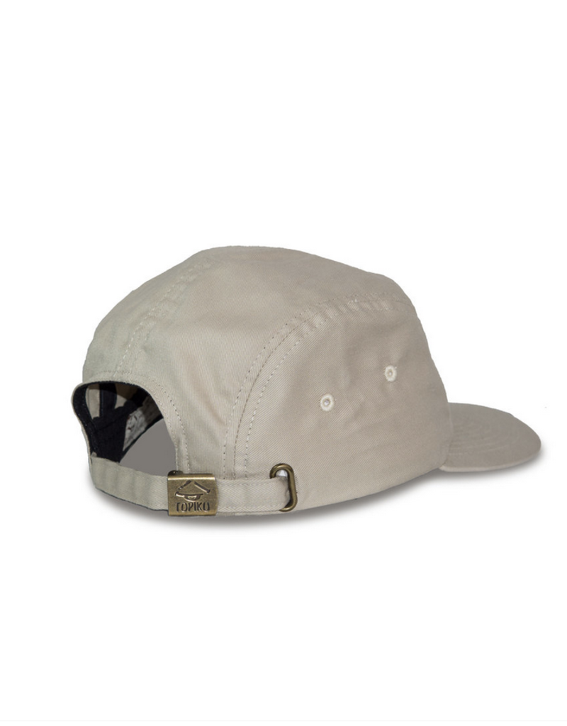 Topiku 5-Panel Cap Beige