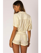 Sisstrevolution Knot a chance top – Vintage White