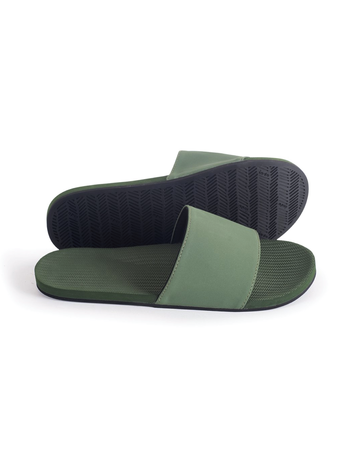 Indosole Men's ESSNTLS Slide Leaf