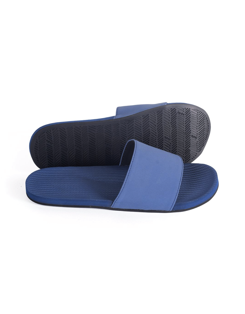 Indosole Men's ESSNTLS Slide Shore