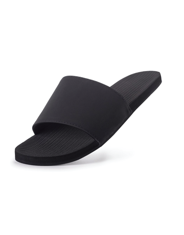 Indosole Women's ESSNTLS Slide Black