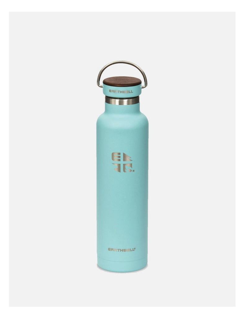 Earthwell 22oz Bottle 30 Aqua Blue Woodie Walnut Cap